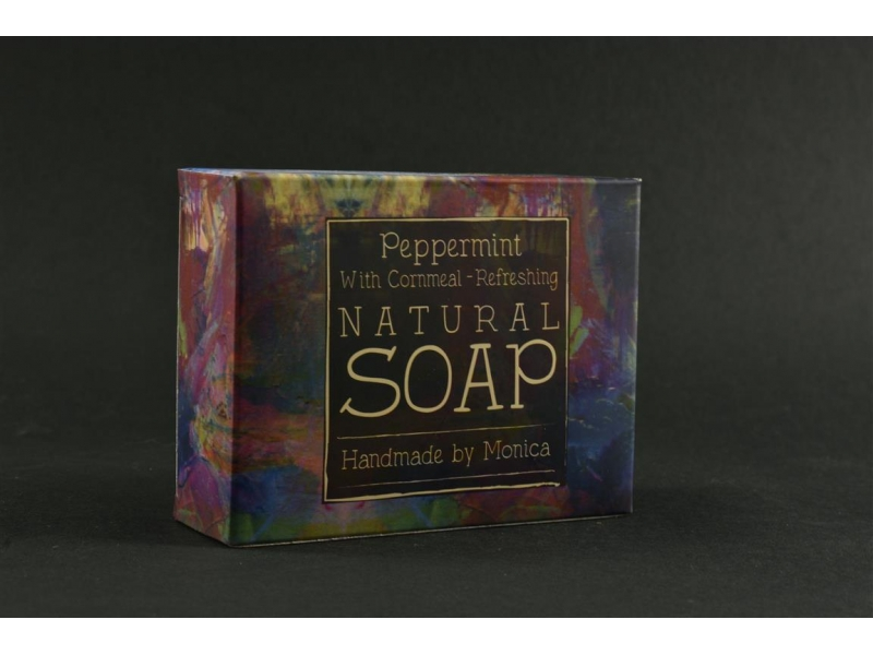 natural-handmade-soap-peppermint-with-cornmeal