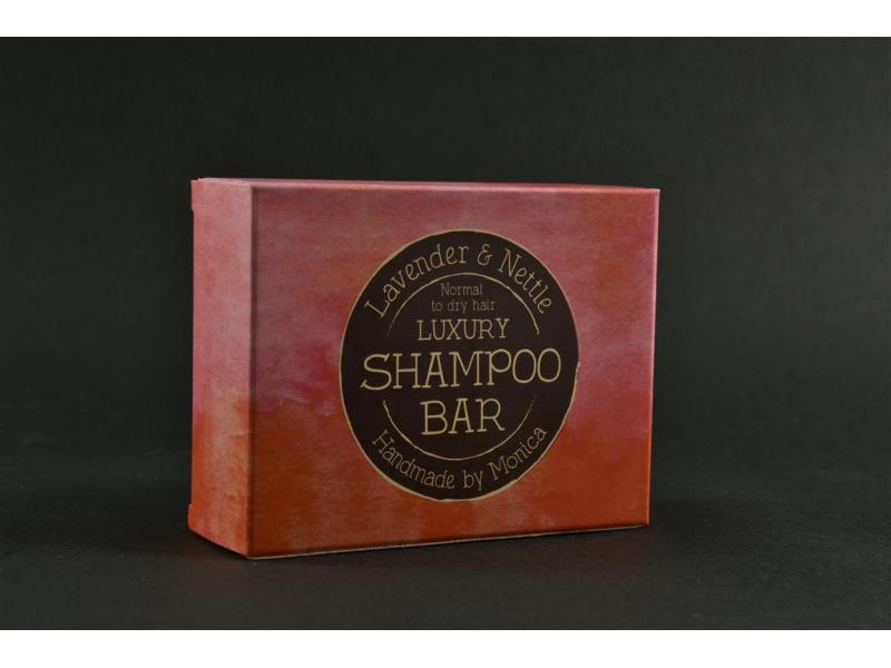 Natural Shampoo Bar Lavender for Normal to Dry Hai