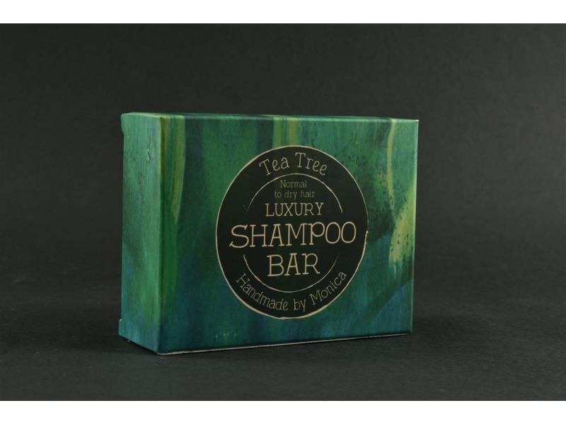 Natural Shampoo Bar Tea Tree for Normal to Dry Hair