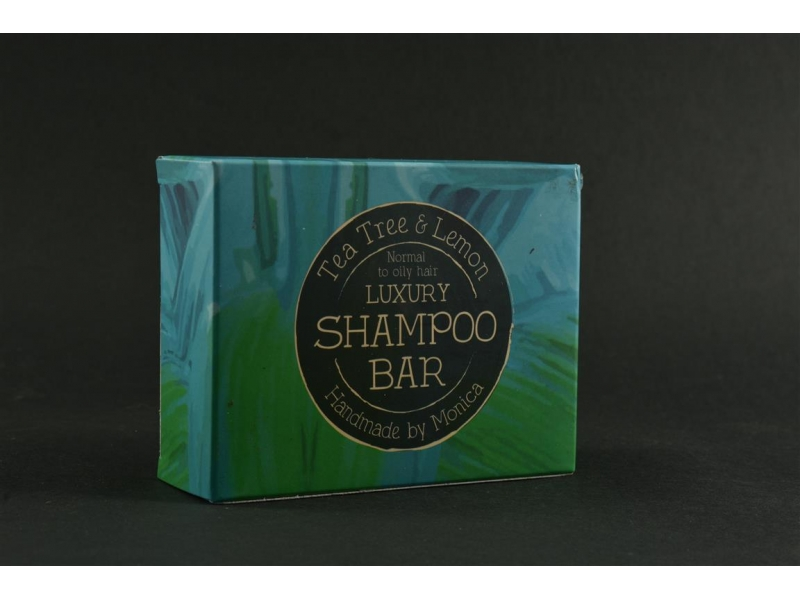 Natural Shampoo Bar Tea Tree n Lemon for Normal to Oily Hair