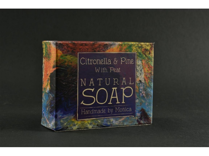 Palm Free Natural Handmade Soap with peat from the offaly bog
