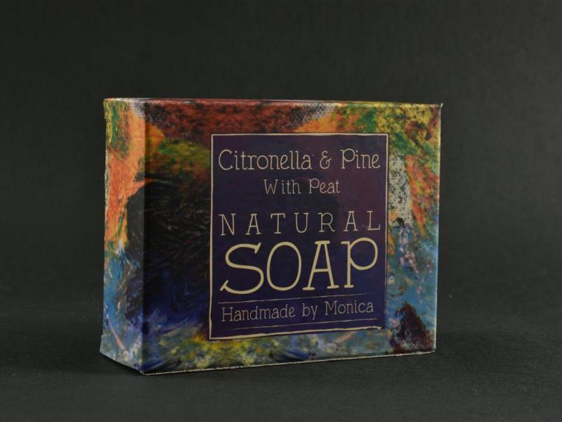 Citronella and Pine Natural Handmade Soap