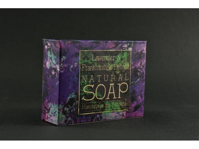 Palm Free Natural Soap Lavender Frankincense
