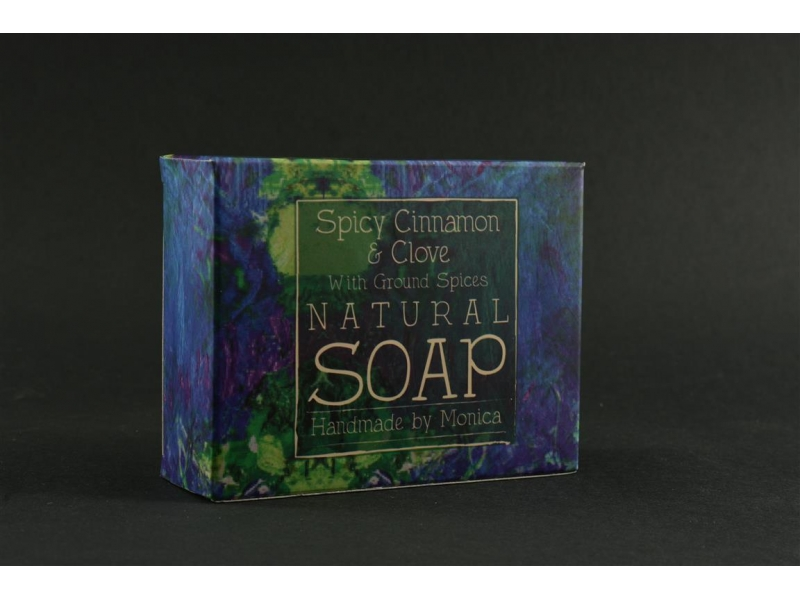 Palm Free Natural Soap Spicy Cinnamon and Clove
