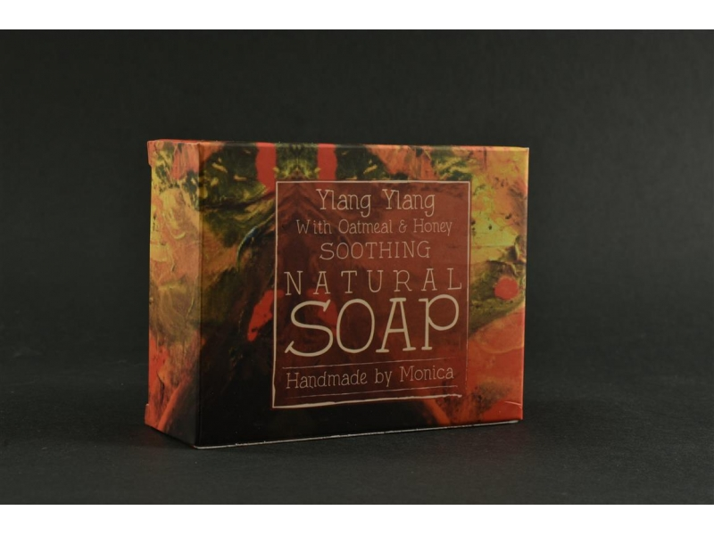 Palm Free Natural Soap Ylang Ylang with Oatmeal and Honey