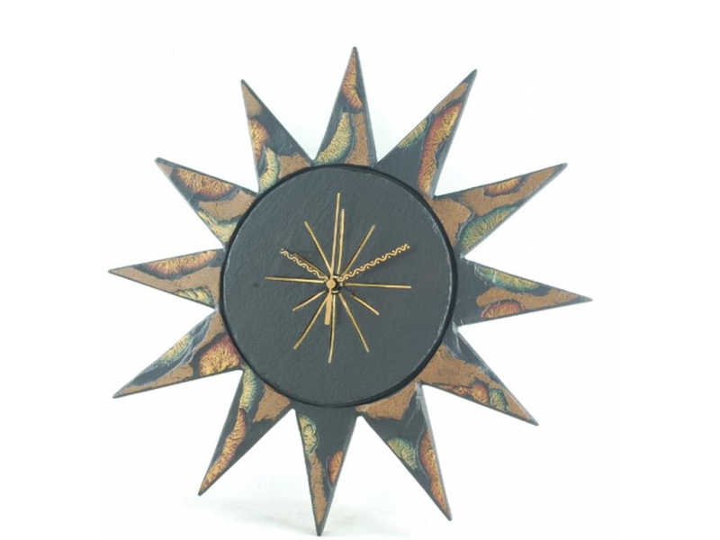 Quirky Slate Clock