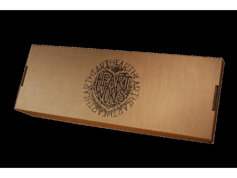 rectangular clock in a box