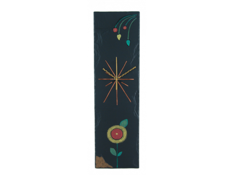 rectangular-clock-with-flower-medium-2