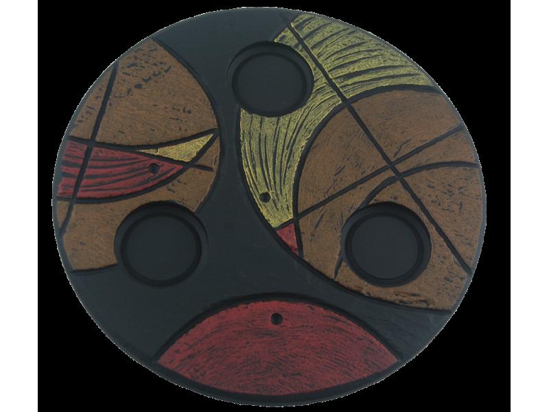 selva-birds-tealight-brown-medium