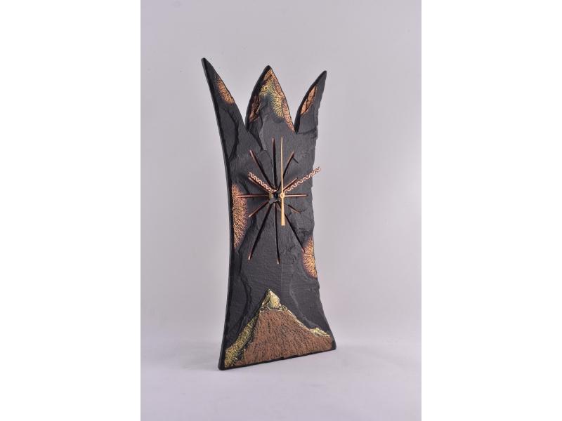 recycled slate regal clock