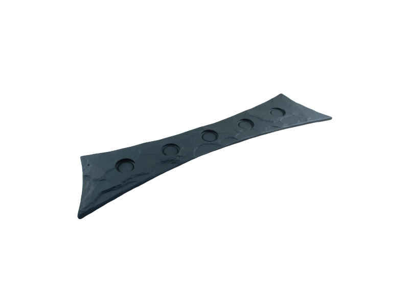 tealight holder in slate