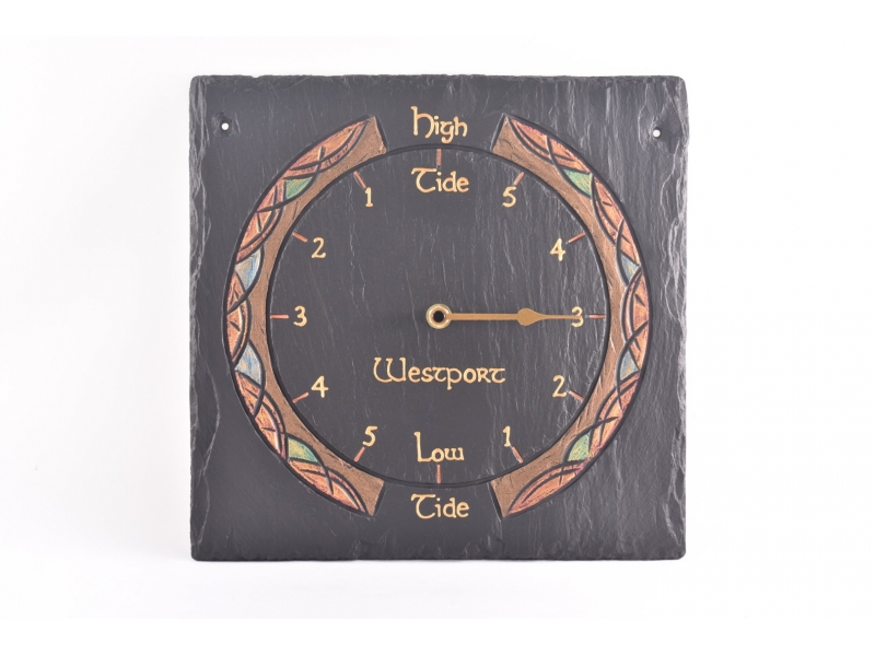 Customised Slate Tidal Clock