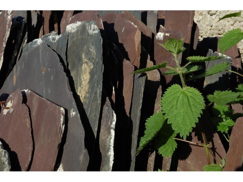 Repurposed  recycled Slate Tiles