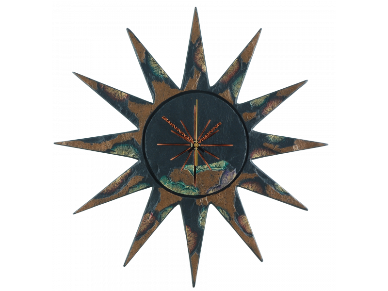 sun-clock-gold-green-edge-2