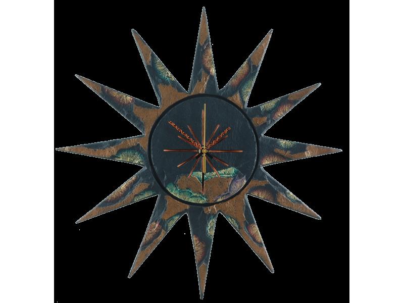 sun-clock-gold-green-edge-3