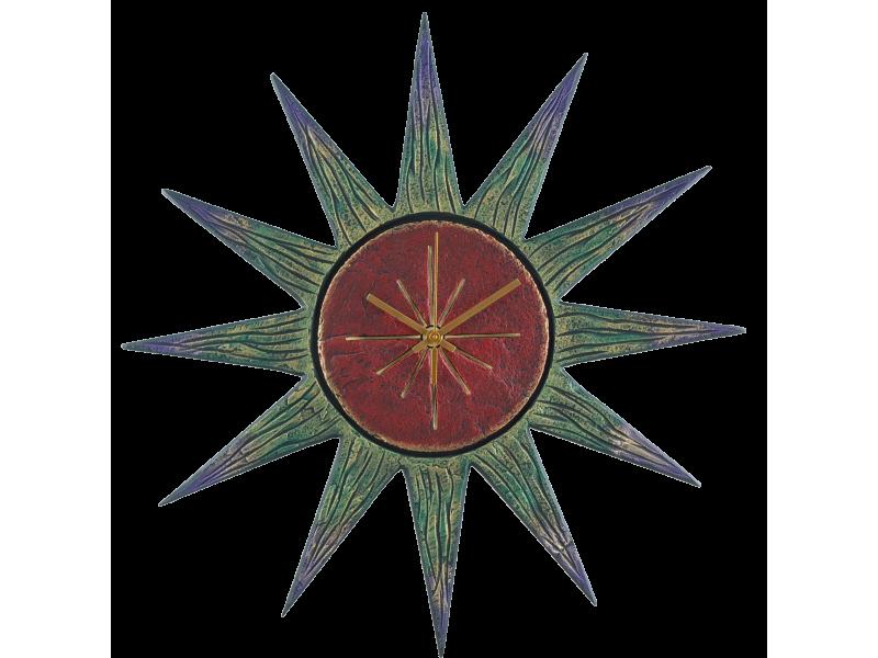 sun-clock-red-face-greenish-rays-2