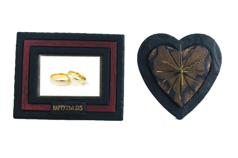 A Wedding Gift Movie : ... Give them a heart shaped clock and a picture frame as a wedding gift